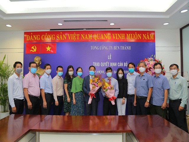 le trao quyet dinh can bo benthanh group